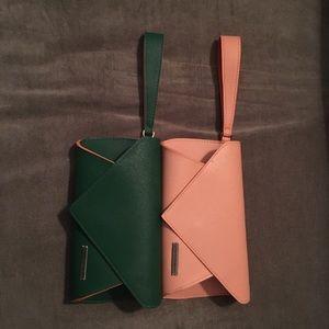 Handbags - JANTAMINIAU clutch wristlets